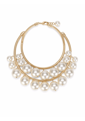 Dolce & Gabbana faux pearl-embellished choker necklace - Gold