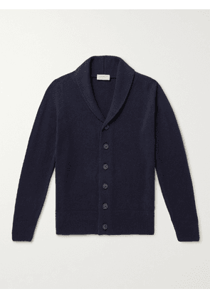 John Smedley - Cullen Recycled Cashmere and Merino Wool Cardigan - Men - Blue - S