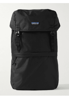 Patagonia - Arbor Lid Recycled Canvas Roll-Top Backpack - Men - Black