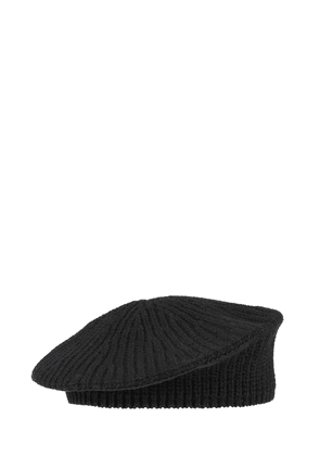 Recycled Wool Blend Knit Hat