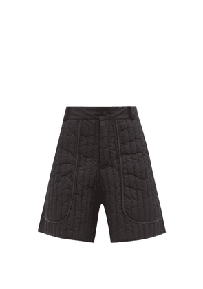 Birkenstock X Toogood - The Beachcomber Quilted-shell Shorts - Womens - Black