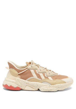 Adidas - Ozweego Suede And Mesh Trainers - Mens - Brown Multi