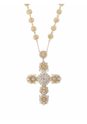 Dolce & Gabbana Pizzo 18kt yellow gold necklace