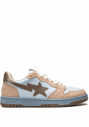 A BATHING APE® BAPE COURT STA low-top sneakers - Brown