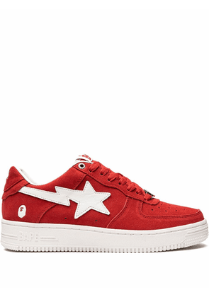 A BATHING APE® BAPE STA low-top sneakers - Red