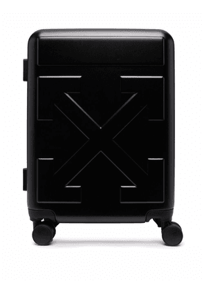 Off-White Arrows Trolley suitcase - Black