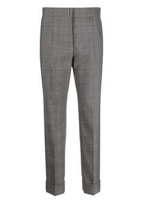 Givenchy checked tailored trousers - Grey
