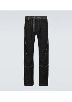 Technical belted pants