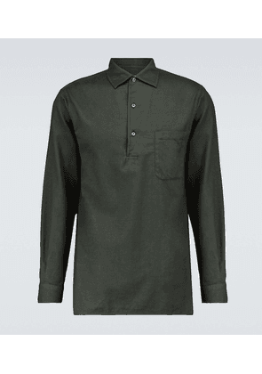 André long-sleeved cotton shirt