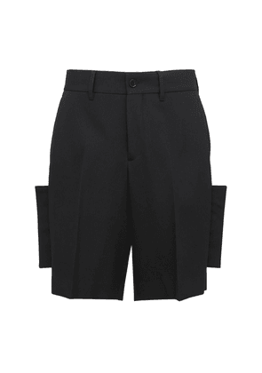 Tailored Wool Shorts