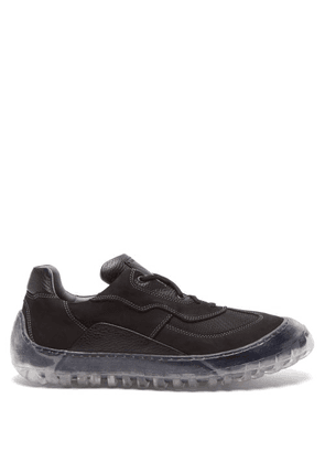 A-Cold-Wall* - Strand 180 Suede, Mesh And Rubber Trainers - Mens - Black White