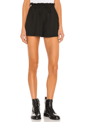 Lovers and Friends Sunday Short in Black. Size XXS, XS.
