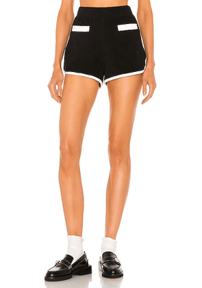 Le Superbe Beachy Keen Short in Black. Size L.