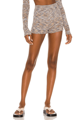 Lovers and Friends Lelani Short in Blue,Brown. Size S, M, L.