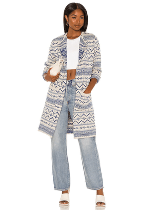 Chaser Steppelands Duster in Blue. Size XS, M, L.