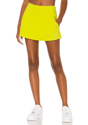 Eleven by Venus Williams Fly Skirt in Yellow. Size XS, M, L, XL.