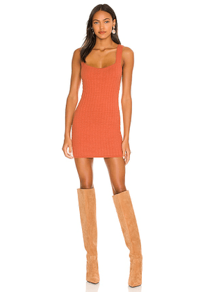 Free People Short And Sweet Mini Dress in Coral. Size S, M, L.