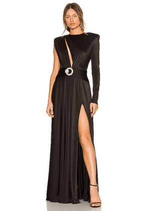 Bronx and Banco Starlight Gown in Black. Size S, M.