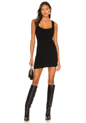 Free People Short And Sweet Mini Dress in Black. Size S, M, L.