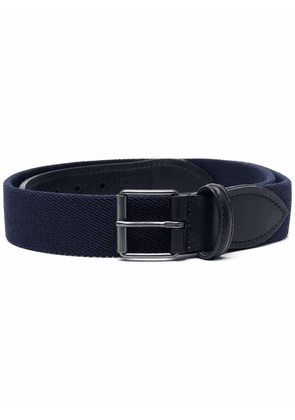 Anderson's buckled leather belt - Blue