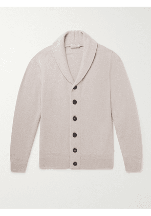 John Smedley - Cullen Recycled Cashmere and Merino Wool Cardigan - Men - Neutrals - XL