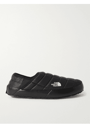 The North Face - ThermoBall Fleece-Lined Quilted Recycled Ripstop Mules - Men - Black - US 8