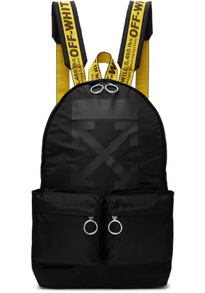 Off-White Black Rubber Arrow Backpack