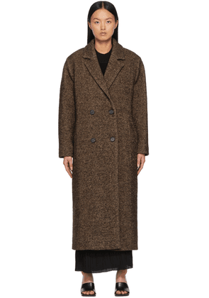 by Malene Birger Brown Recycled Wool Mauris Coat