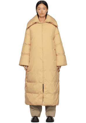 by Malene Birger Beige Down Claryfame Maxi Coat