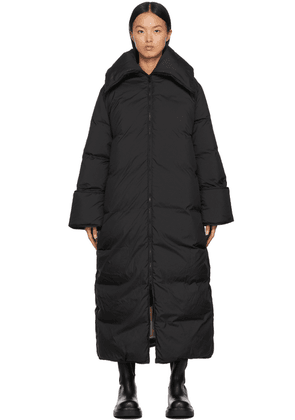 by Malene Birger Black Down Claryfame Maxi Coat