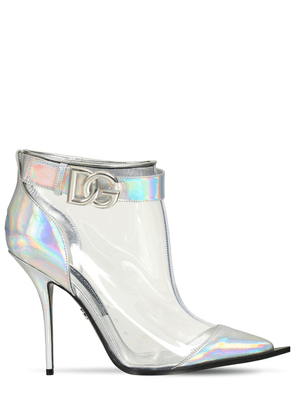 105mm Cardinale Iridescent Ankle Boots