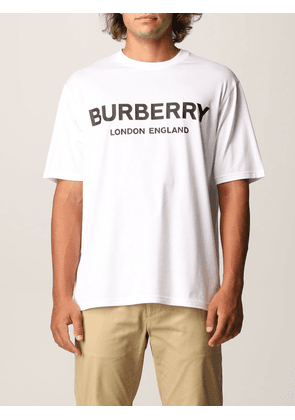 Burberry cotton tshirt with logo