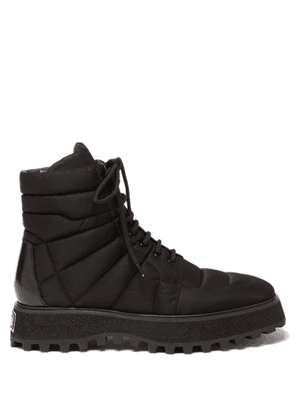 Dolce & Gabbana - Michelangelo Quilted Nylon Boots - Mens - Black