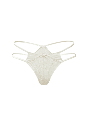 Frankie Strappy Lace Thong