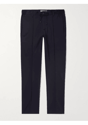 Connolly - Tapered Stretch-Jersey Drawstring Trousers - Men - Blue - IT 46