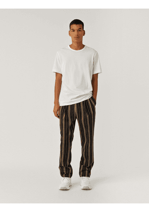 Worsted Wool Stripe Teddy Trousers