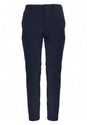BOSS slim-fit water-repellent trousers - Blue