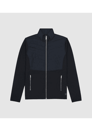 Reiss Score - Quilted Zip Up Gilet in Navy, Mens, Size XS