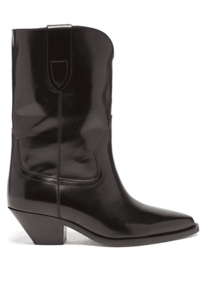 Isabel Marant - Dahope Leather Boots - Womens - Black