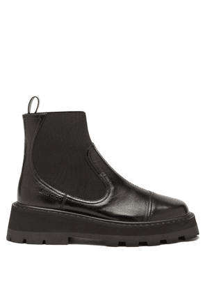 Jimmy Choo - Clayton Raised-sole Leather Chelsea Boots - Womens - Black