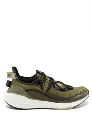 Adidas X Parley - Ultraboost 21 Recycled-fibre Trainers - Mens - Khaki