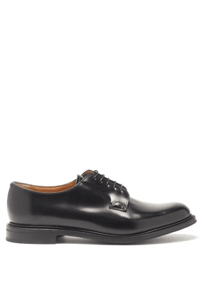 Church's - Shannon Leather Derby Shoes - Womens - Black