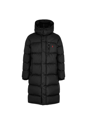 Polo Ralph Lauren Black Quilted Shell Coat
