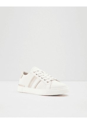 ALDO Kwena trainers in light pink and rose gold