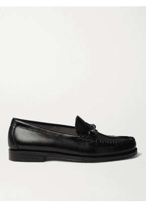 G.H. Bass & Co. - Weejuns Heritage Lincoln Horsebit Leather Loafers - Men - Black - UK 6
