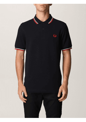 Fred Perry polo shirt in piqué cotton