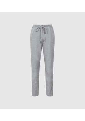 Reiss Neave - Slim Fit Jersey-stretch Trousers in Grey, Womens, Size 4