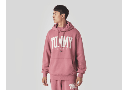 Tommy Jeans College Relaxed Fit Sweatshirt, Red
