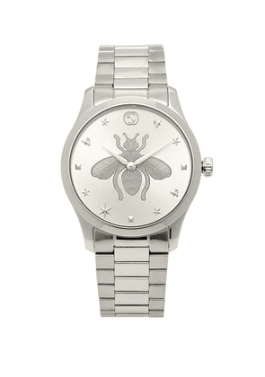 Gucci - G-timeless Stainless-steel Watch - Womens - Silver