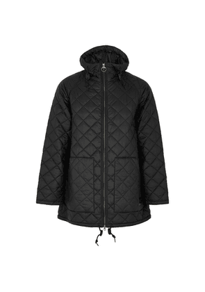 Barbour Hunting Black Quilted Shell Jacket